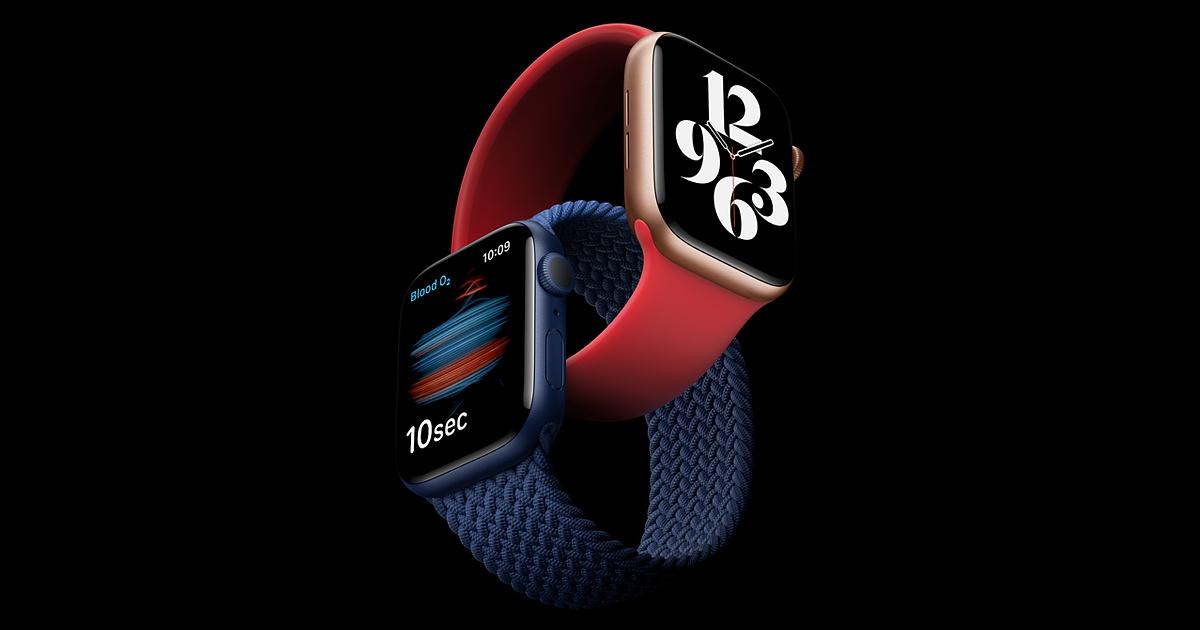 Встречайте — Apple Watch Series 6 и SE