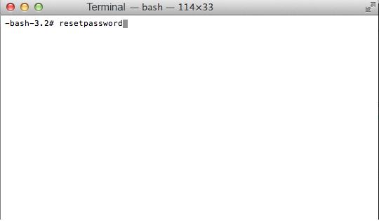 Как сбросить пароль на MacBook