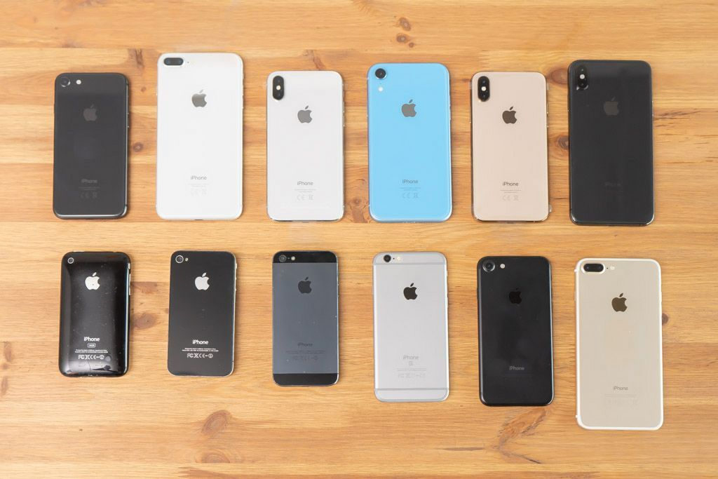 Как менялись цвета iPhone