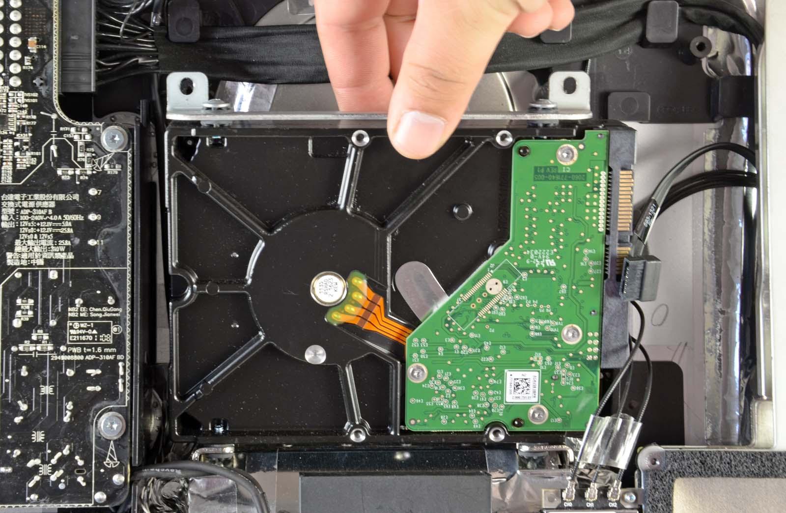 Що робити якщо, iMac шумить після заміни HDD