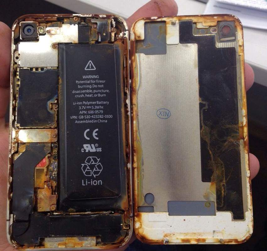 Что делать если айфон 7 упал в воду